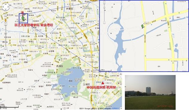 第2回JCTQM研究会 会場地図